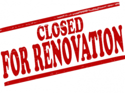 LIBRARY CLOSED FOR RENOVATIONS