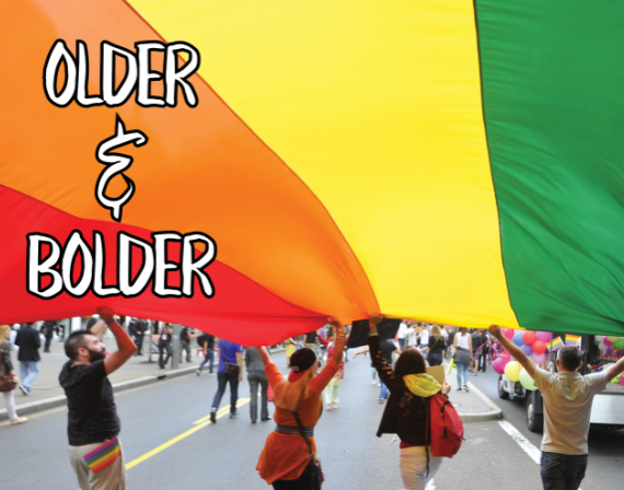 Older & Bolder: LGBTQ+ Adult Drop-In