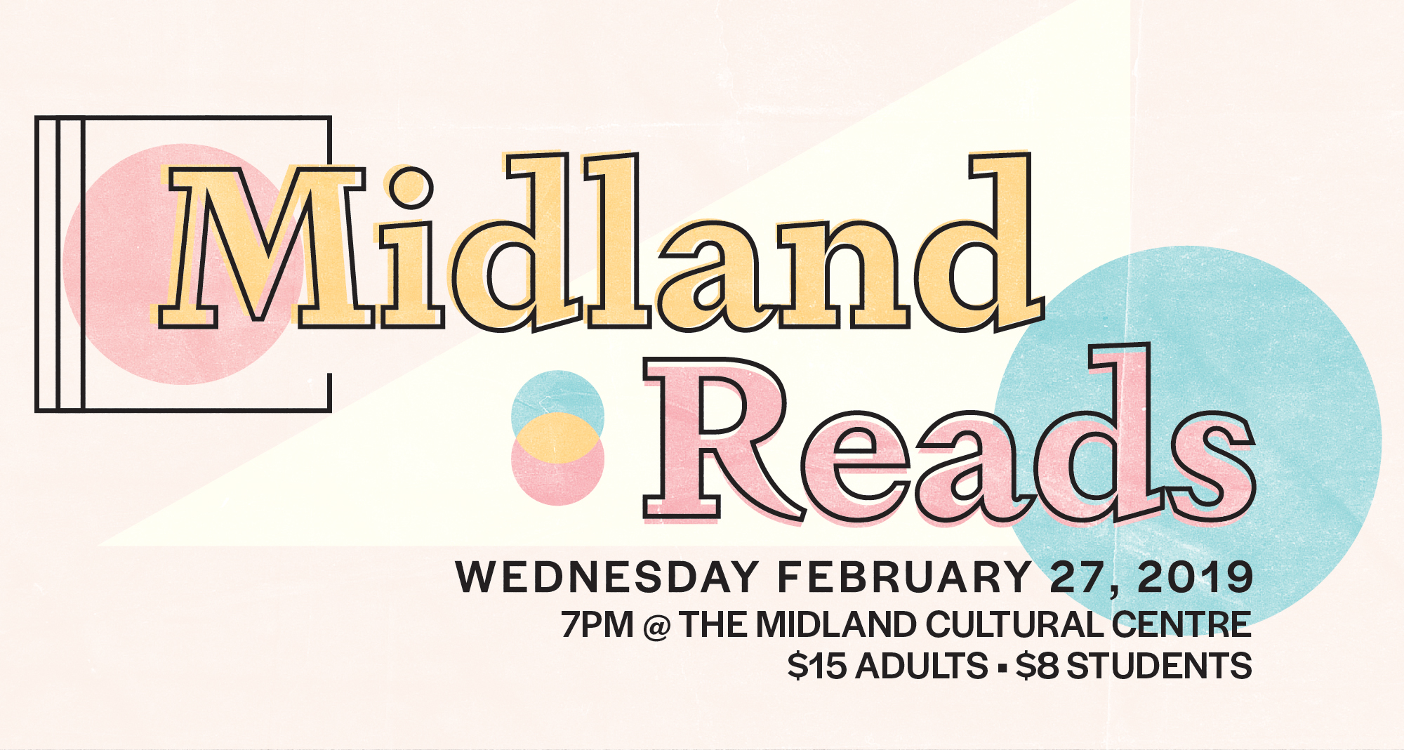 Midland Reads 2019, In Partnership With The Midland Cultural Centre