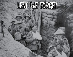 Remembering On Remembrance Day