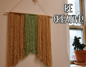 Take & Make: DIY Wall Hanging Starts