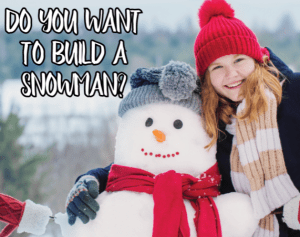 Family Literacy Day: Snowman Building Competition