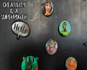 Teen Take & Make: Comic Book Magnets Available